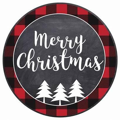 Christmas Merry Printable Tags Gift Tag Chalkboard