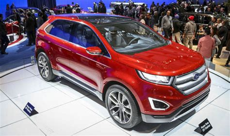 Edge, Ford's New 4x4 Could Cut Through The Family Car
