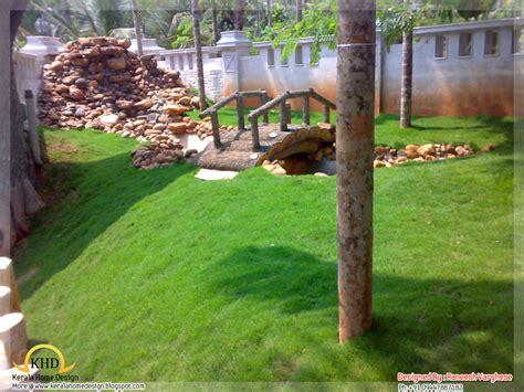 landscaping design ideas kerala home design  floor plans