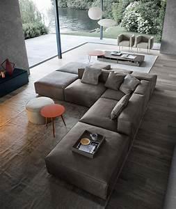 Wohnzimmer Mit Brauner Couch : so platzieren sie ihr sofa richtig im wohnzimmer ~ Markanthonyermac.com Haus und Dekorationen