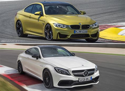 Vs C63s by 2017 Mercedes Amg C63s Coupe Vs Bmw M4 Tigerdroppings