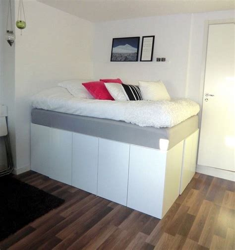 Kleine Wohnung Stauraum by Stauraum Unter Dem Hochbett Im Kleinen Schlafzimmer