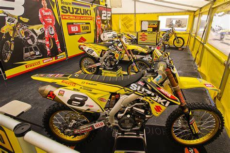 Suzuki World by Team Suzuki World Mxgp In The Pits Mxgp Of Europe
