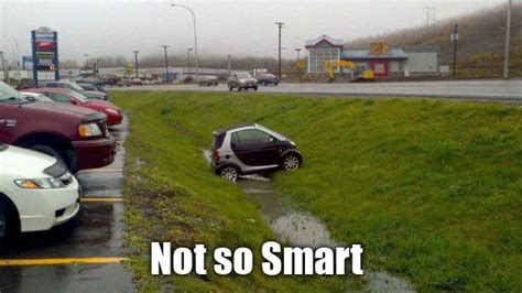 smart car not so smart funny memes