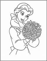 Princess Coloring Disney Pages Printable Belle Sheet Printables Colouring Fanclub sketch template
