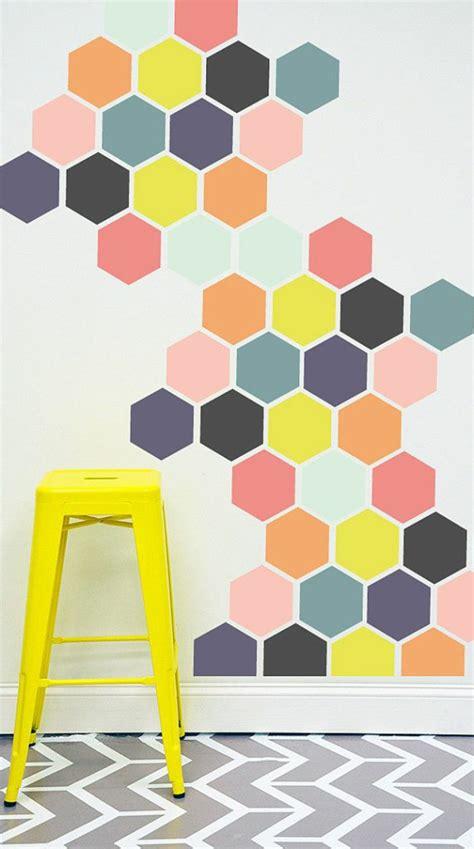 Wandgestaltung Mit Farbe Muster by 40 Inspirierende Ideen F 252 R Eine Kreative Wandgestaltung