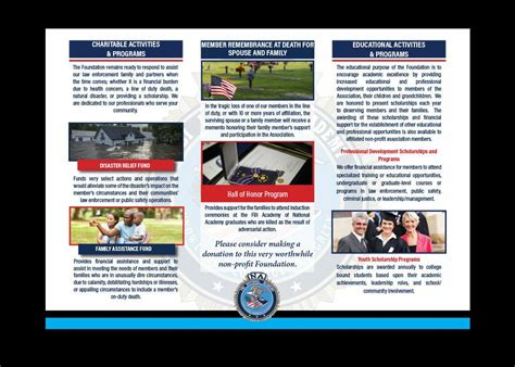 Pdf is a document file format that contains text, images, data etc. FBINAA Charitable Foundation Tri-Fold Brochure - DeSantis ...