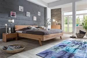 Bett 200x200 Günstig : livia bett doppelbett 180 x 200 kernbuche buche massiv ~ Watch28wear.com Haus und Dekorationen