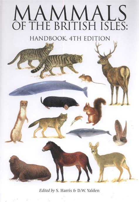 3 letter mammals mammals of the isles handbook stephen harris 28571