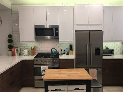 A Small Ikea Kitchen? Let's Get Vertical, Vertical