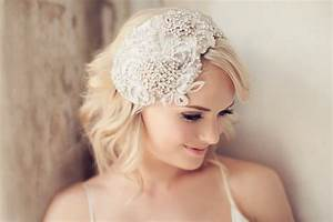 Beautiful Wedding Headpieces For Brides With Short Hair 2