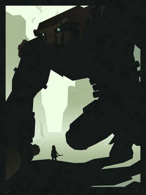 Shadow Of Colossus Minimalist Game Poster Advertisement