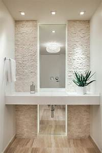 Photo Salle De Bain Moderne : carrelage travertin salle de bain et comment le choisir ~ Premium-room.com Idées de Décoration