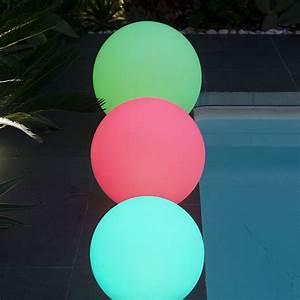 Boule Lumineuse Exterieur Solaire : boule lumineuse solaire lumisky solsty c30 multicolore l ~ Edinachiropracticcenter.com Idées de Décoration