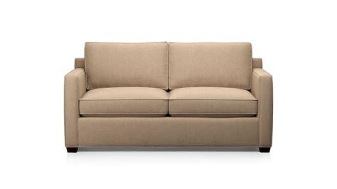 Davis Sleeper Sofa by Davis Sleeper Sofa Darius Mink Crate And Barrel