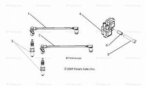 Polaris Side By Side 2011 Oem Parts Diagram For Electrical  Ignition System