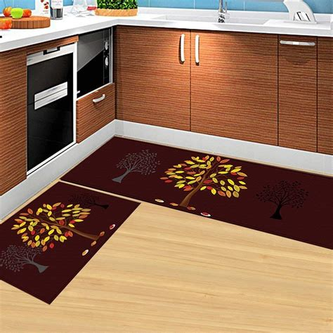 buy hebe kitchen rugs set  piece  slip kitchen rugs