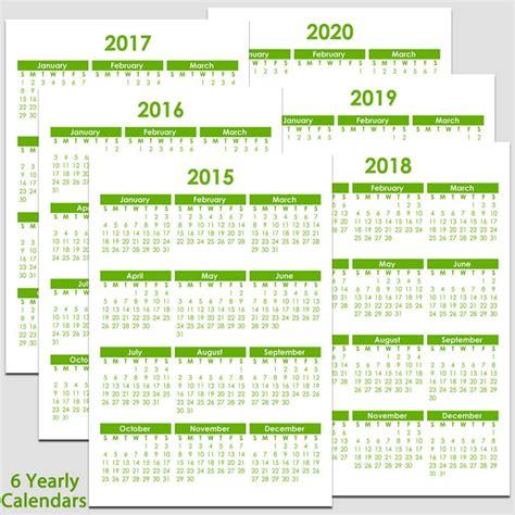 printable yearly calendar calendars