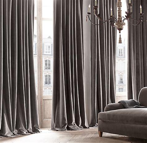 velvet drape vintage velvet drapery