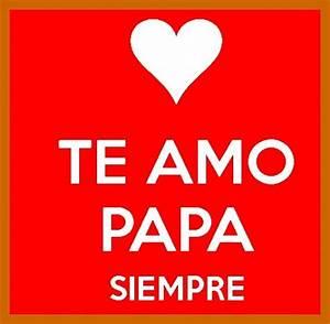 frases bonitas para papa cortas para whatsapp Corazones Con Frases De Amor