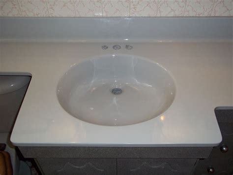 Vanity Top Refinishing, Cultured Marble Sink And Bath Top