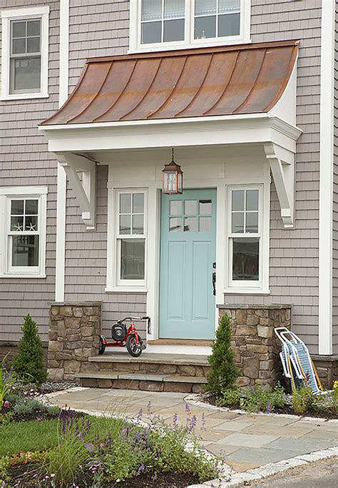 copper color exterior house paint the crowning touch new metal roof options from coleman