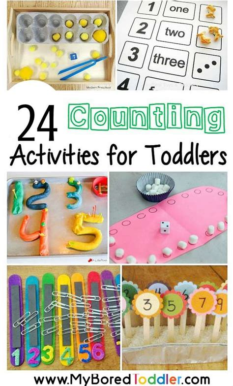 toddler counting activities my bored toddler 804 | counting activities for toddlers pinterest