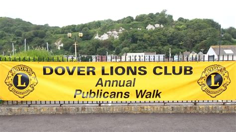 Our Charity Walk over The Western... - Dover Lions Club