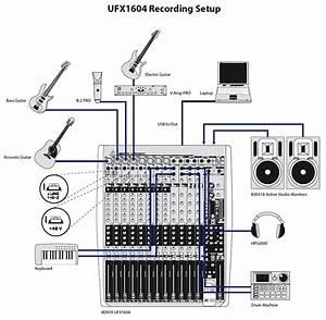Behringer Xenyx Ufx1604 Premium 16-input 4-bus Mixer  Ufx1604    Avshop Ca