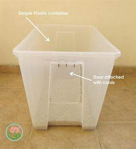 Diy cat litter box storage furniture toma creations for Can you train a cat to go outside for bathroom
