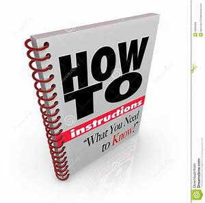 Instruction Book How To Do It Yourself Manual Stock