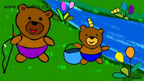 Hoạt Hình Gấu Câu Cá-chuyện Kể Rèn Tính Kiên Nhẫn- Bé Kể