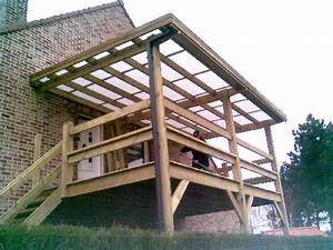 Terrasse Metallique Suspendue : terrasse bois suspendue piscine ossature garde corps pictures bois bassdona ~ Dallasstarsshop.com Idées de Décoration