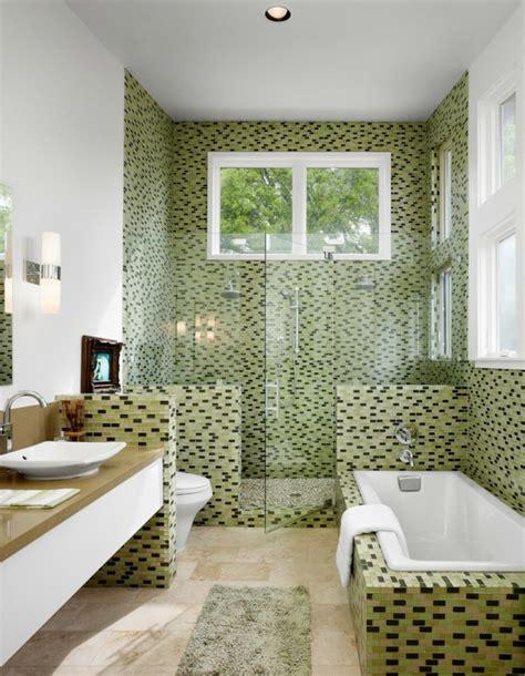 salle de bain originale le carrelage mosaique pour la d 233 co de la salle de bains archzine fr