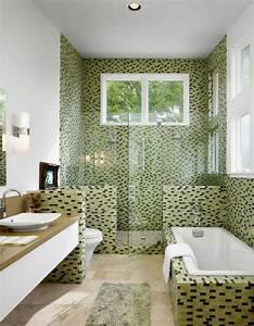 le carrelage mosaique pour la deco de la salle de bains With mosaique de salle de bain
