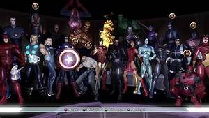 Marvel Ultimate Alliance All Characters And Outfits Youtube