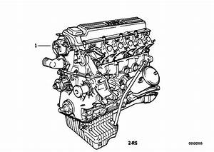 Original Parts For E39 525tds M51 Touring    Engine   Short