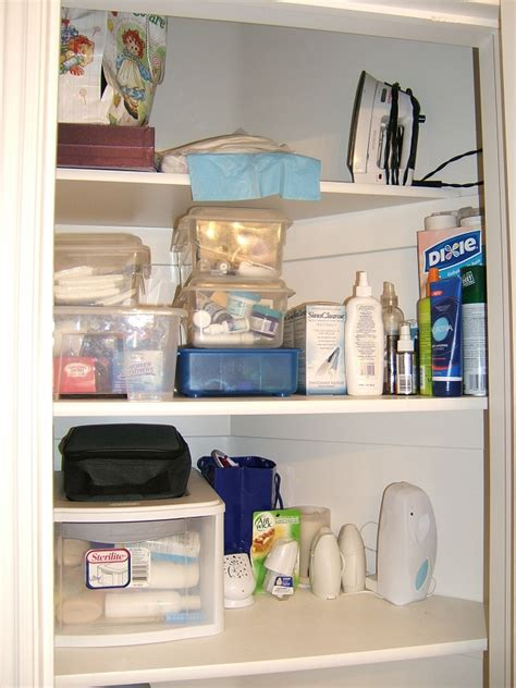 clear out the clutter challenge bathroom closet
