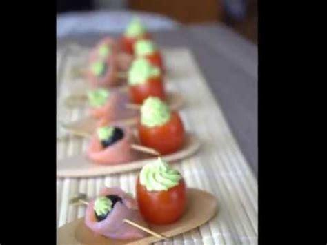 tomate cerises a la crème d 39 avocat amuse bouche facile