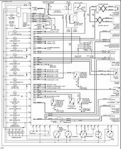 Volvo 960 1997 Instrument Cluster Wiring Diagram