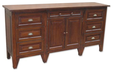 Farmhouse Sideboards And Buffets by Cottage Style Sideboard Walnut Farmhouse Buffets And