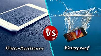 Water Waterproof Difference Resistant Between Vs Android