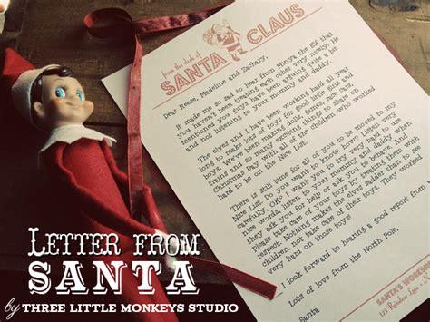 santa letterhead   monkeys studio