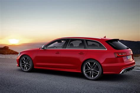 Audi Wagon by New 2014 Audi Rs6 Avant Sport Wagon Photos And Details