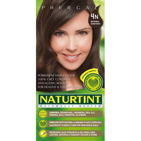 4n hair color naturtint permanent hair color 4n chestnut