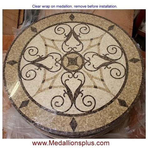 mosaic tile medallions 24 quot round floor medallion polished mosaic tile medallions inlay design mosaic tiles mosaics