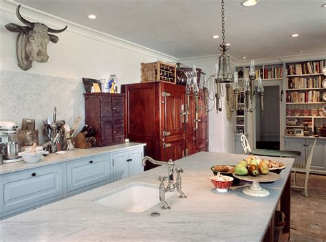 French Country  Rustic  Kitchen  Philadelphia By