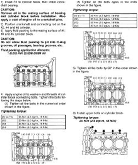 repair guides specifications torque specifications