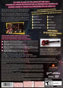 Guitar Hero Encore Rocks The 80s Box Shot For Playstation