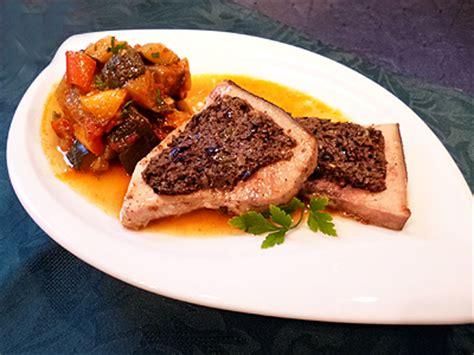 cuisiner espadon espadon grillé à la tapenade la recette facile par